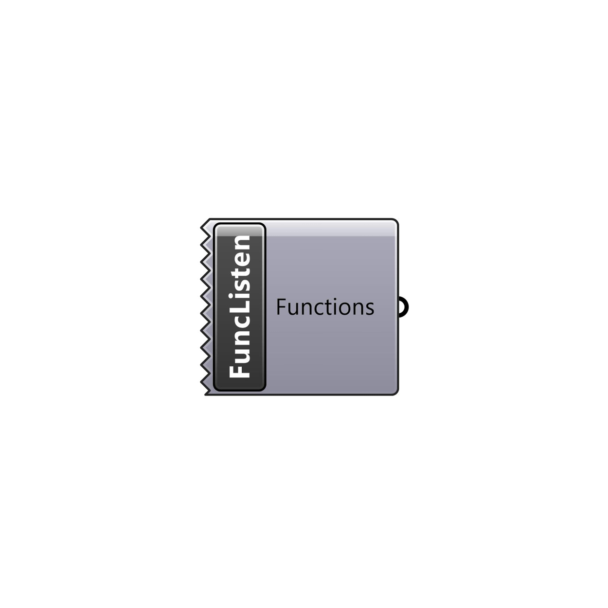 Function Listener component