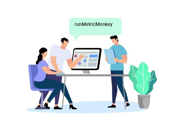 Run MetricMonkey command