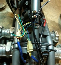 got all my electrical components on the bike just need to wire it all together now what you see here will all be cleaned up and hidden under the tank of  [ 1936 x 2592 Pixel ]