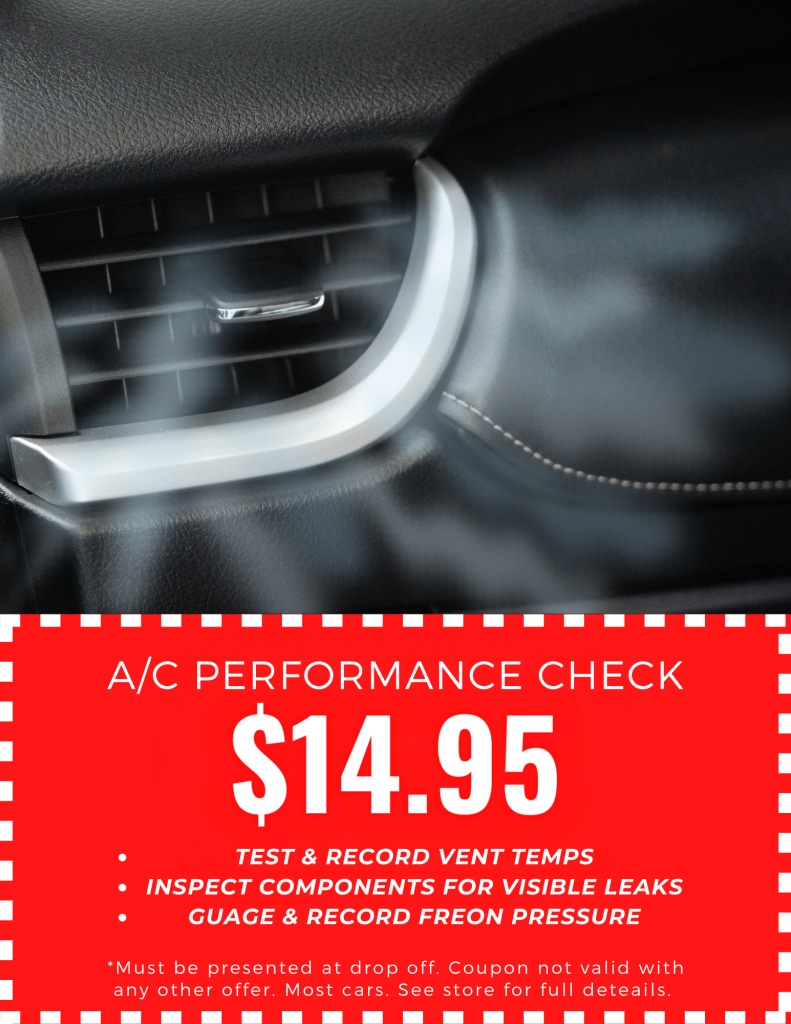 A/C Performance Check Special