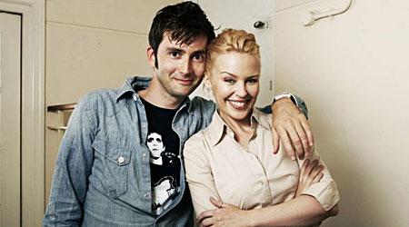 Kylie Minogue and David Tennant