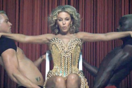 Kylie Minogue in Get Outta My Way (Polydor)