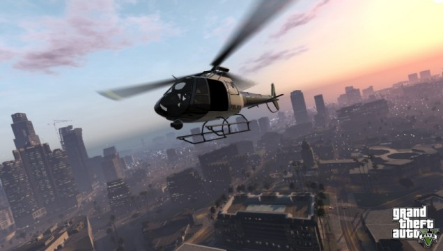 Grand Theft Auto V - yep, that's a screenshot all right