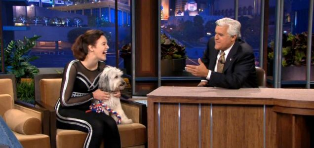 Ashleigh and Pudsey, Tonight With Jay Leno