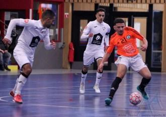 Pays Voironnais - Montpellier Méditerrannée Futsal (60)