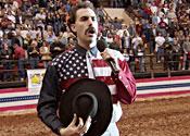 Borat makes benefit in US