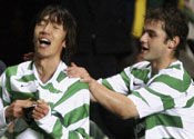 United stunned by battling Bhoys