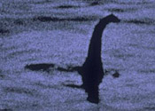 Loch Ness monster named most famous Scot