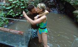 Gaffney Leeming kiss