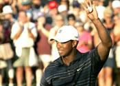Woods wins Grand Slam of Golf