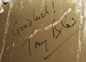 Tony Blair Good Luck message