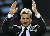 Real chief: Mistake to let Becks go