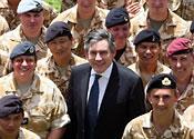 Gordon Brown Iraq