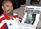 Antonio Castro's father Fidel ruled Cuba for almost 50 years