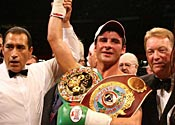 Hopkins calls for Calzaghe fight