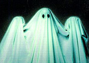 What a ghost may look like