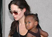Angelina faces adoption heartache