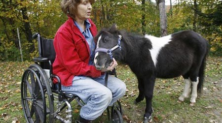 Patty Cooper and horse