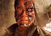 Arnold Schwarznegger as the Terminator