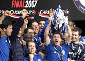 Chelsea lift cup