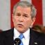 Bush confronts Iraq and economy fears