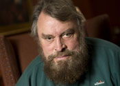 Brian Blessed turns into green man