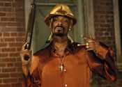Snoop Dogg introduces his Hood Of Horror