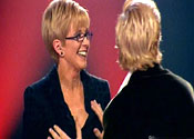 Anger at Weakest Link breast squeezing