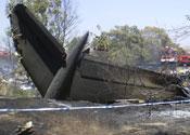 Three child survivors lose family in air crash