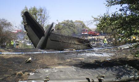 air crash madrid