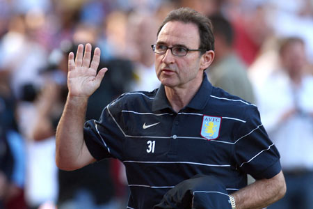 Up and running: Martin O'Neill