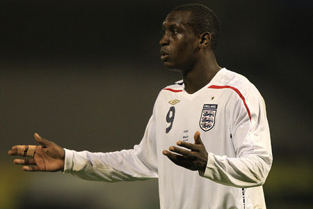 Point to prove: Emile Heskey has been shirt of goals for England