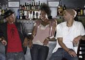 flirt bar man woman