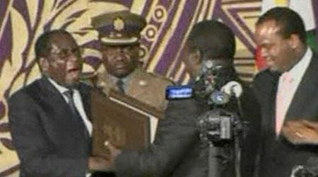 Mugabe and Tsvangirai