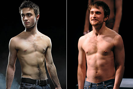 Daniel Radcliffe bared all in Equus