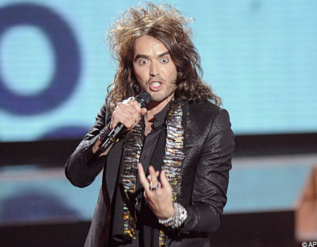 Russell Brand is a well known love machine