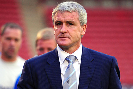 No panic: Manchester City boss Mark Hughes