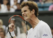 Murray breezes through