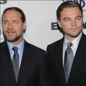 Leo and Russell attend NY premiere