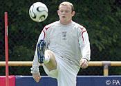 Wayne Rooney: nice foot