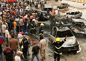 Nine killed in Baghdad bombings
