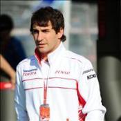 Glock denies letting Lewis overtake