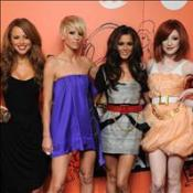 Girls Aloud's TV Christmas party