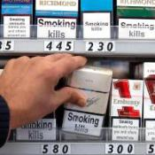 Plan to ban shop cigarette displays