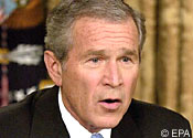 Bush offered hardware store job