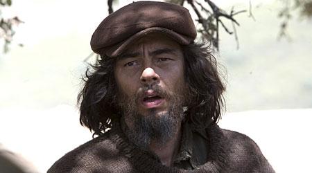 Benecio Del Toro acts his socks off in Che