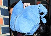 Lindsay Lohan goes shopping in London