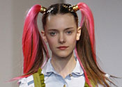 Smith, Giles and Luella make an impact on the catwalk