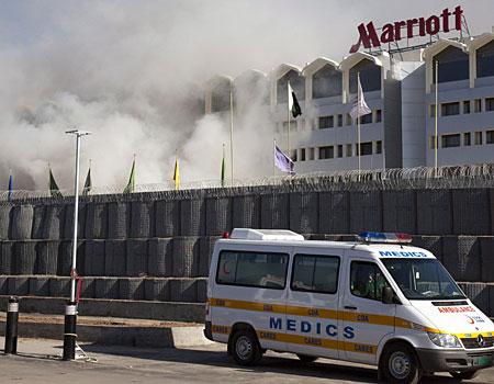 Islamabad Marriott fire