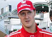 Schumacher in hospital after motorbike crash